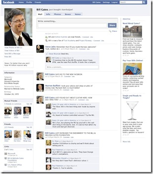 Bill Gates Facebook