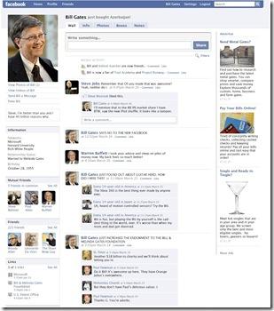Bill Gates Facebook